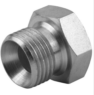 Hydraulic Bspp 60 Degree Cone Male Plug ( Pack Of 5 )