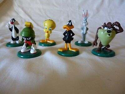 Looney Tunes R & L Cereal Toys 1994 Complete set of (6)