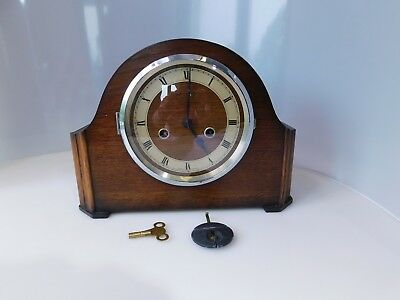 Vintage Art Deco Style Mantel Clock - Westminster Chime( NO MAKERS MARKS)