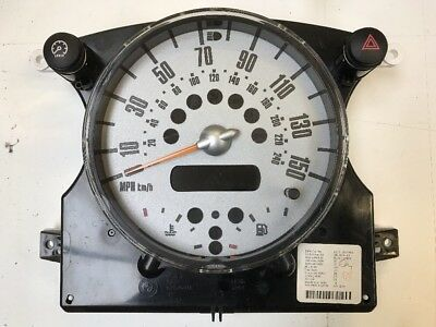 BMW Mini Cooper One S JCW Speedo Clock Instrument Cluster R50 R52 R53 6972076