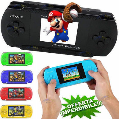 Console Portatile Pvp Station Giochi Videogioco Display Lcd Video Game Boy Girl
