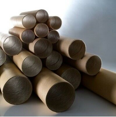 x10 Strong Cardboard Tube Packing Storage Crafts Industrial - 1.4m long rolls