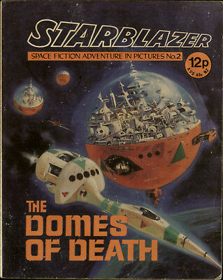 The Domes Of Death,starblazer Space Fiction Adventure In Pictures,no.2,1979