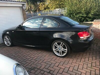 BMW 1 series 120i M Sport coupe Black 2010 (60 plate)