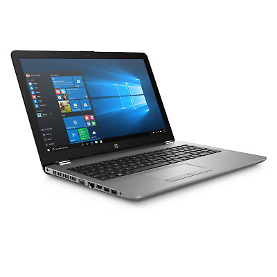 "HP 250 G6 SP 4QW29ES Notebook i3-7020U 15"" Full HD matt 8GB 256GB SSD ohne Win"