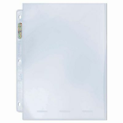 ULTRA PRO 1 POCKET PLATINUM SERIES 8'' x 10'' SLEEVES PHOTO COMIC 10 x PAGES