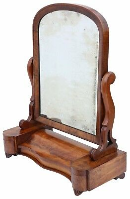 Antique fine quality large dressing table swing mirror toilet C1870 4857