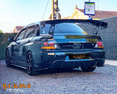 Mitsubishi Lancer Evolution Evo 7/8/9 Carbon Fiber CF gt wing spoiler kit v6