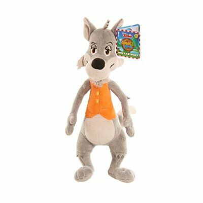 Goldie and Bear Bean Plush-Big Bad Wolf, Multicolor
