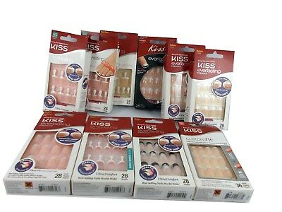 Kiss Everlasting French / Collection False Nails / Toes buy 2 get 1 free