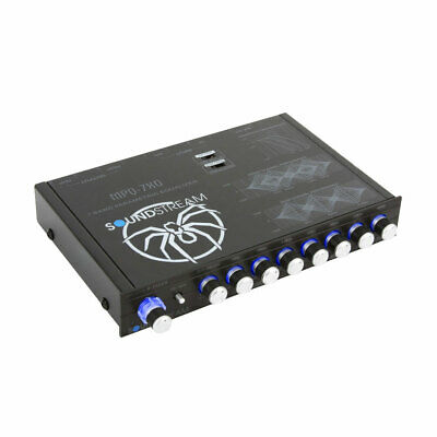 Soundstream MPQ-5XO .5 Din 4-Band Autoradio Equalizer Paramétrique Eq Crossover