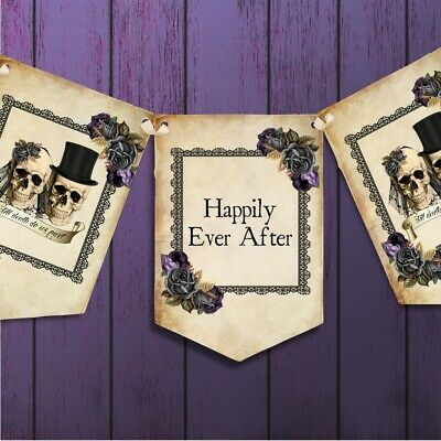 Happily Ever After Banner Wedding Reception Venue