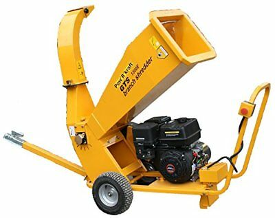 PK-GTS1500E Gas Powered Wood Chipper