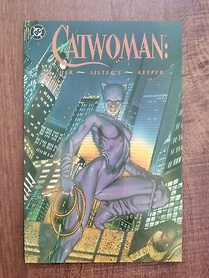Catwoman Her Sister's Keeper (DC Edition) #1-1ST 1991