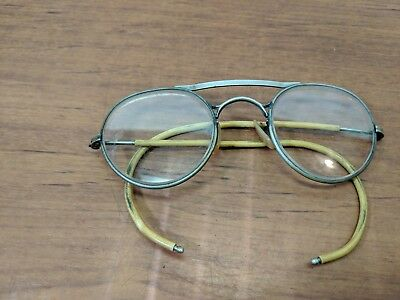 VINTAGE CLEAR Bausch & Lomb SAFETY GLASSES MOTORCYCLE