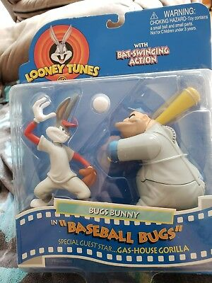 Looney Tunes Bugs Bunny And Gas-House Gorilla Baseball Bugs