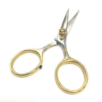 "DR SLICK 4.5"" RAZOR HAIR SCISSORS ADJUSTABLE TENSION fly tying tool"