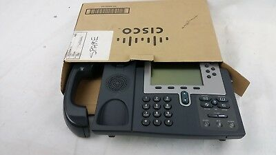 Cisco CP-7960 VOIP IP POE Phone W HandSet (Refurbished) 7960 Series