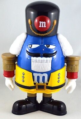 M&M's Blue Nutcracker Candy Dispenser Limited Edition
