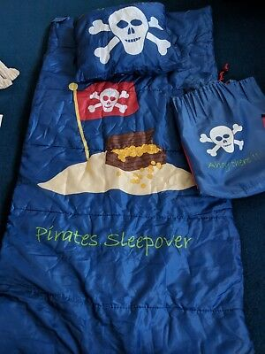 Kids Pirate Sleeping Bag