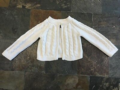 Baby Girl Knit Sweater Baby Gap Size 18 Months
