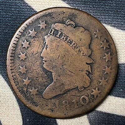 1810 Classic Head Large Cent S-283
