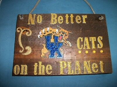 Very Pretty CATS Lover hand Made  Plaque!!