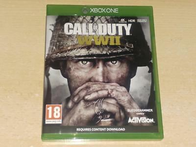 Call of Duty WWII World War 2 Xbox One **FREE UK POSTAGE**