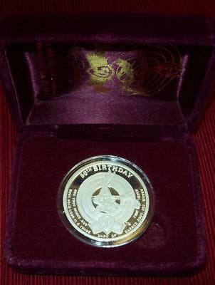 1990 Bugs Bunny Rare Limited Proof Edition .999 Silver Round 1Tr Oz With Box