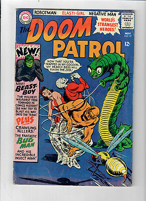 DOOM PATROL #99 - Grade 5.0 - First appearance of BEAST BOY!