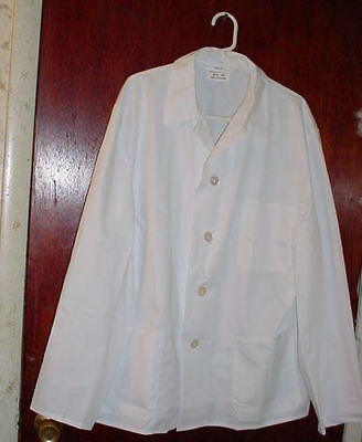 Chef's Coat Size Xl New Free S/h