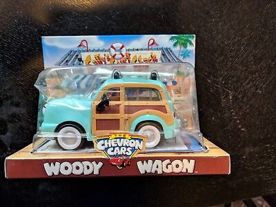 Chevron Promo 1999 Woody Wagon Toy Car MIB