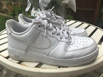 Mens Nike Air Force 1 Trainer All White Size 8