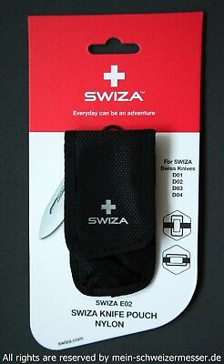 SWIZA, the new Swiss Army Knife, Nylon Etui (passend für Mod D01, D02, D03, D04)