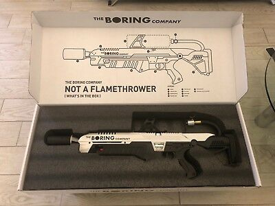 🔥*IN HAND* The Boring Company Not-a-Flamethrower (Brand New)🔥