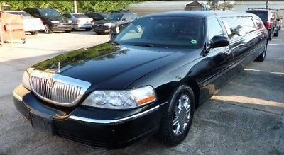 """2011 Lincoln Town Car Limousine 2011 Lincoln Town Car Limousine 120 """" Krystal PRICED TO SELL MUST SEE !"""