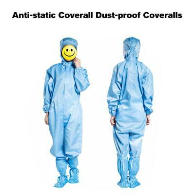 Anti-static Coverall Dust-proof Coveralls Antistatic Coating Cleanroom L4F3