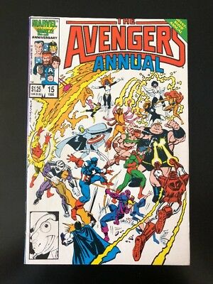 "The Avengers Annual #15 ""Betrayal!"" (1986 Marvel)"