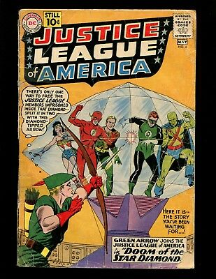 Justice League of America #4 GD Anderson Green Arrow Joins Wonder Woman Superman