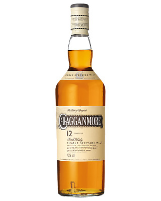 Cragganmore 12 Year Old Speyside Scotch Whisky 700mL bottle