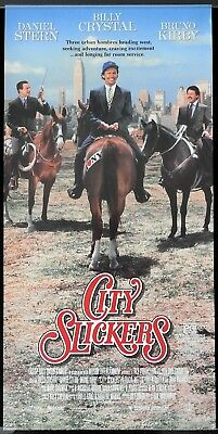 CITY CLICKERS Original ROLLED Daybill Movie poster Billy Crystal Daniel Stern