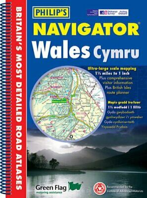 Philip's Navigator Wales (Philip's Road Atlases & Maps) by  0540085294