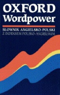 Oxford Wordpower Dictionary for Polish Learners Paperback Book The Cheap Fast