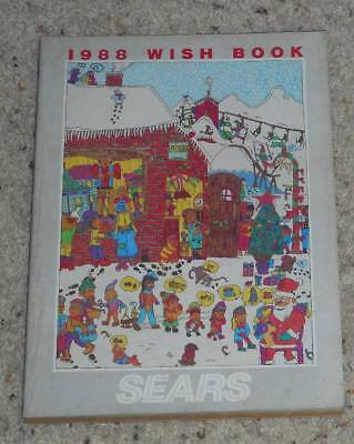 Vintage 1988 Sears Wish Book Christmas Catalog Kenner Ghostbusters Transformers
