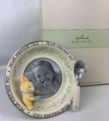 HALLMARK Keepsake Baby's Special Moment Frame, Pease Porridge Cold Hot