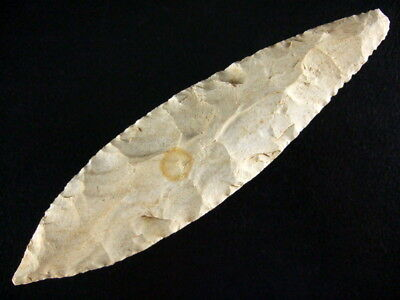 7 3/8 Inch Collector Grade Illinois Morse Point Arrowheads COA