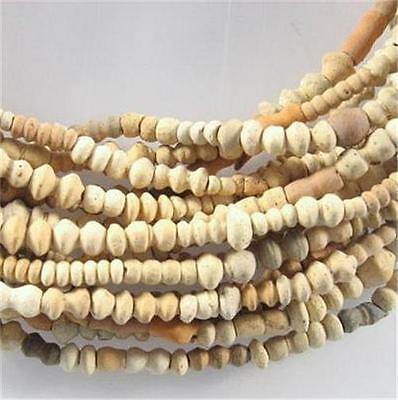 A strands Antique African Clay Terracotta Mali Trade Beads