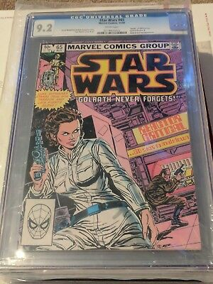 1977 Marvel Star Wars 65 CGC 9.2