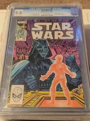 1977 Marvel Star Wars 76 CGC 9.0