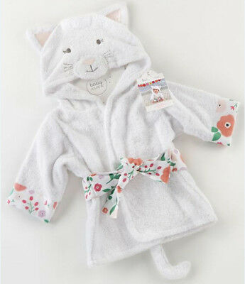 Toddler Baby Boy Girl Hoodie Warm Bath Robe Sleepwear Homewear Coat Pajamas  AU